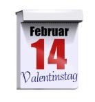 kalender valentinstag 14. februar