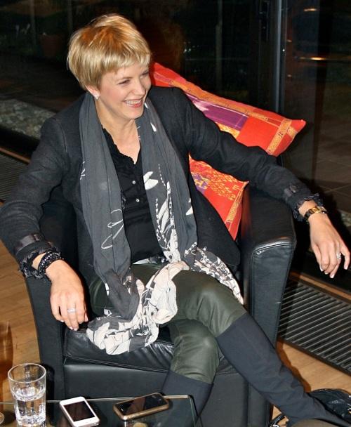 Marina Wessolowski im Gespräch